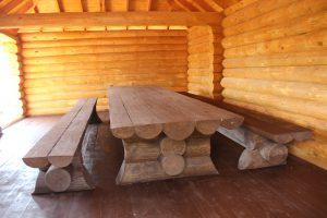 Изготовление деревянных беседок