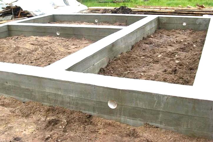 Cтроительство фундамента